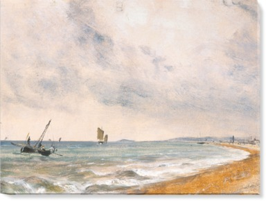 Hove Beach with Fishing Boats; 1824