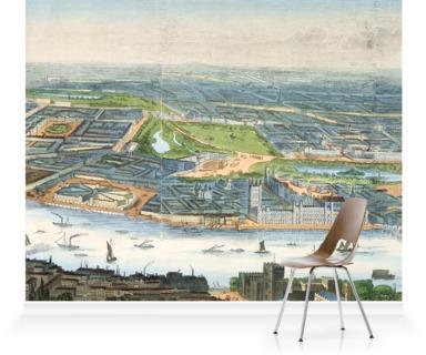 Panorama of Parliament, London