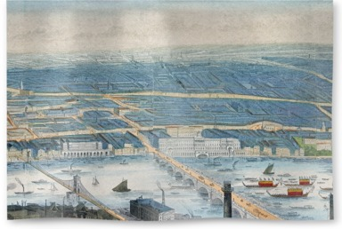 Panorama of Somerset House, London
