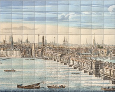 Panorama of London and the River Thames