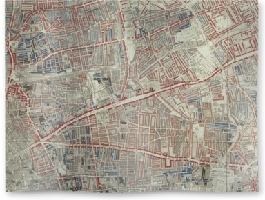 London Poverty Map of Hoxton