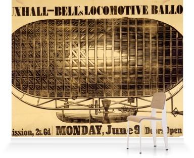 An ascent of Bell's Locomotive Balloon