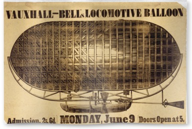 An ascent of Bell's Locomotive Balloon