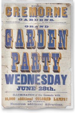 Cremorne Garden Party