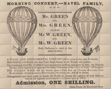 The Royal Gardens Balloon Race