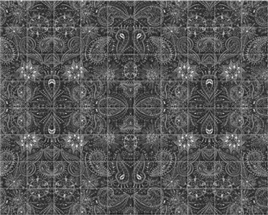 Paisley Snowflakes Repeat
