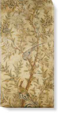 Canvases Of Chinoiserie Wallpaper Panel By VA 500mm X 1000mm