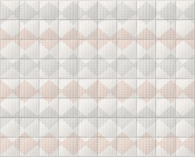 Knitted Room V Pastel Tiled
