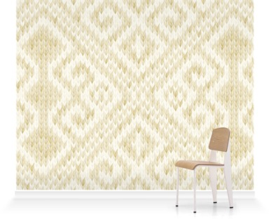Knitted Room III Gold