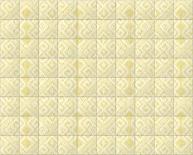 Knitted Room III Ochre Tiled