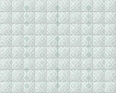 Knitted Room III Jade Tiled
