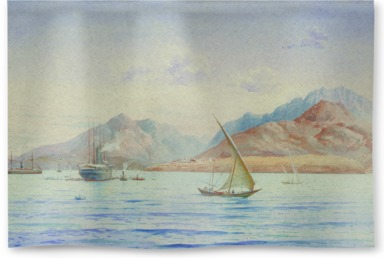 P&O Steamer off Aden