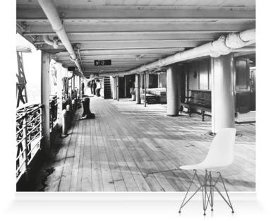 Promenade deck of P&O Balranald