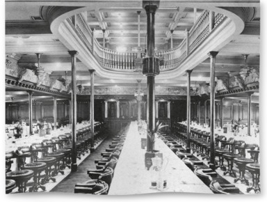 First Class Dining Saloon on board P&O Medina
