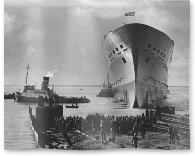 The launch of Oriana