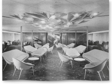 First Class Meridian Room on board Canberra