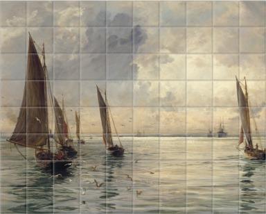 The Portsmouth Fishing Fleet: The Breeze Falls Light