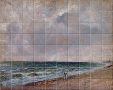 Seascape Study: Brighton Beach looking west