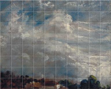 Cloud Study: Horizon of Trees