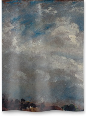 Cloud Study: Horizon of Trees