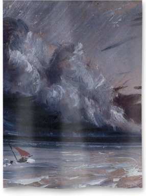 Coast Scene with Stormy Sea