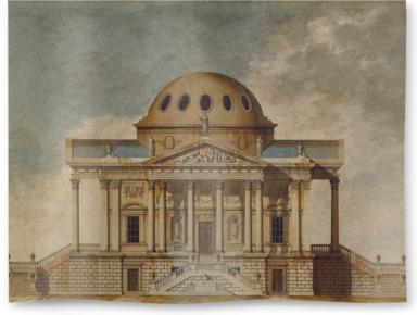 Design for a Nobleman's Villa: Elevation