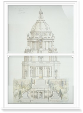 Record Drawing of Ashton Memorial, Lancaster,