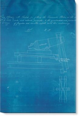 Carronade slide for Quarter Deck and Forecastle on Frigates