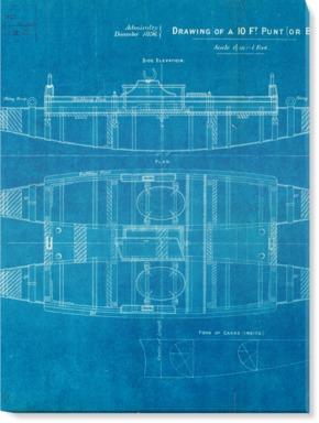 Plan of 10ft punt or balsa life raft