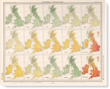 Isotherms - British Isles