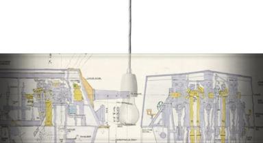 6-inch Triple Mounting Marck XXIII plan relating HMS 'Belfast'