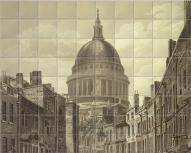St. Paul's from St. Martins Le Grand