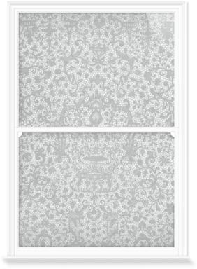 Venetian Lace Border - Grey