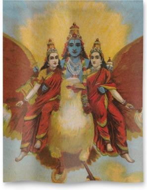Garuda-vahana-Vishnu