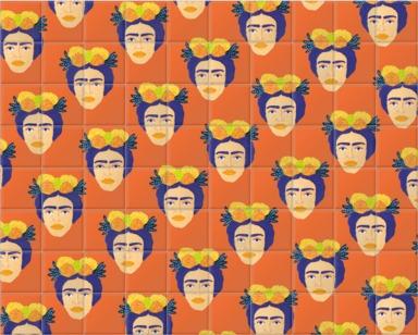 Colourful Frida
