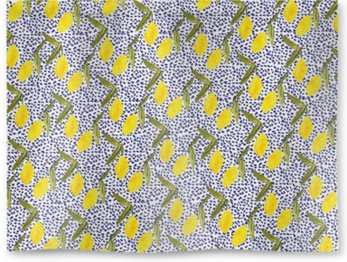 Lemon and Dots