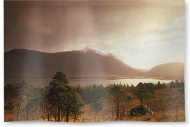 April Storm, Sunrise, Glen Torridon, Wester Ross, Highlands of Scotland