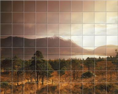 April Storm, Sunrise, Glen Torridon, Wester Ross, Highlands of Scotland