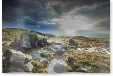 Blackstone Edge Moor, Rochdale, Lancashire