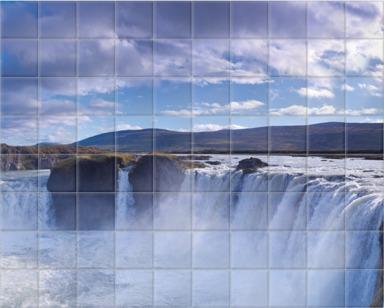 Godafoss Waterfall, Iceland I