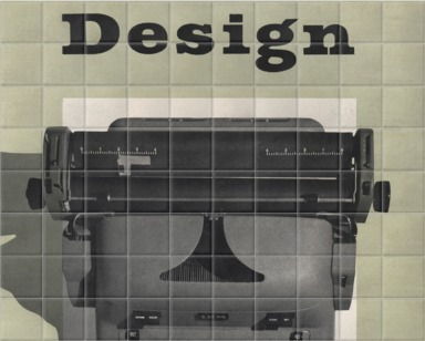 Typewriter Design 1954