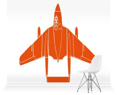 Jetting Off - Orange