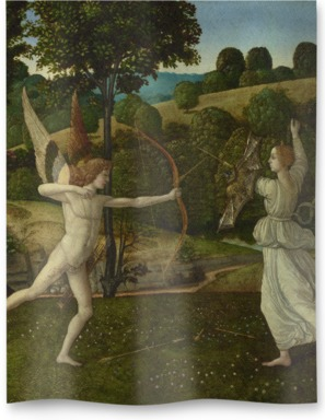 The Combat of Love and Chastity
