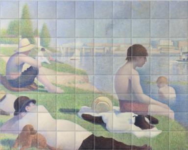 Bathers at Asnières