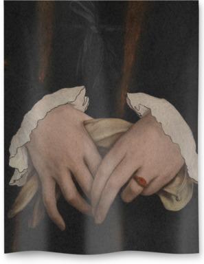 Detail from Christina of Denmark