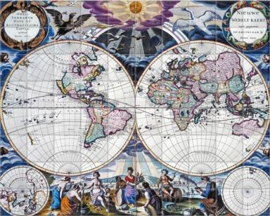 Goos Atlas Planisphere