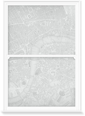 Chart of London City - Grey