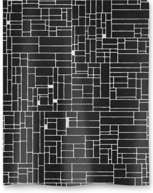 Computer Grid Black and White