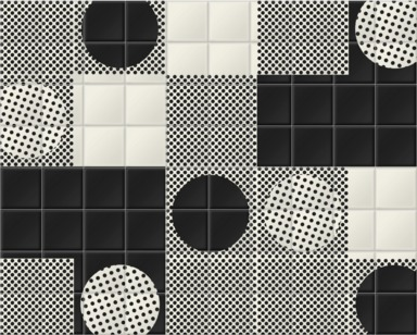 Lots of Black and White Dots