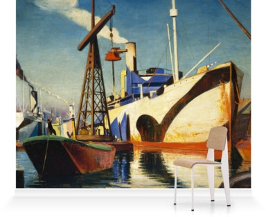 Converting a Cunarder to a Merchant Ship